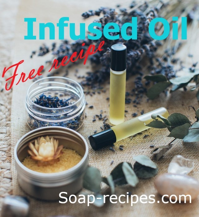 free recipe infused oil, hot or cold method